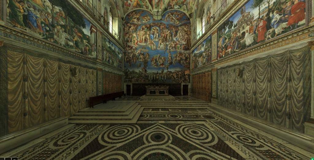 Chapelle sixtine virtuelle