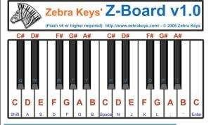 Zebrakeys