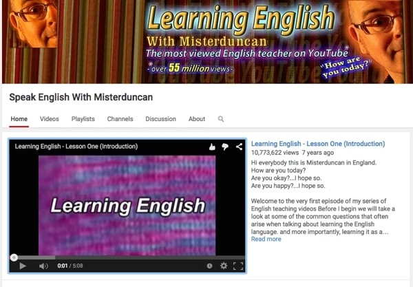 Learn english with M Duncan