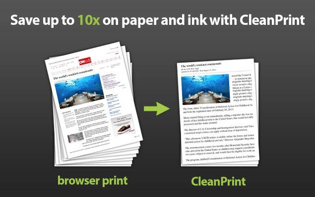 Clean Print