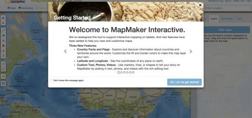 Natgeo MapMaker Interactive