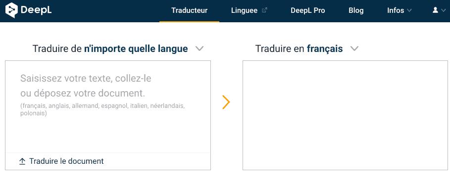 Traduction en ligne