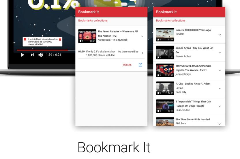 bookmark video
