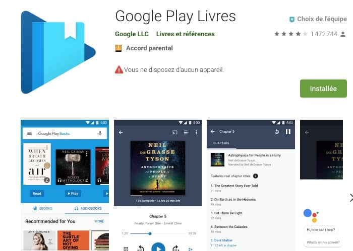 lecture ebooks android
