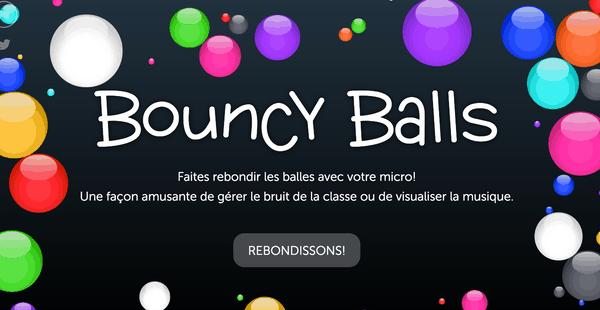 Bouncy Balls mesureur