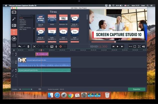 capture ecran video