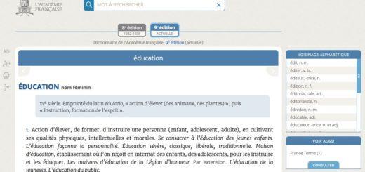 Dictionnaire de l'académie française
