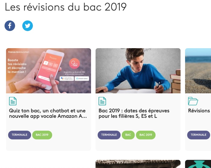 Revisions france television