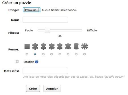 Puzzle en ligne