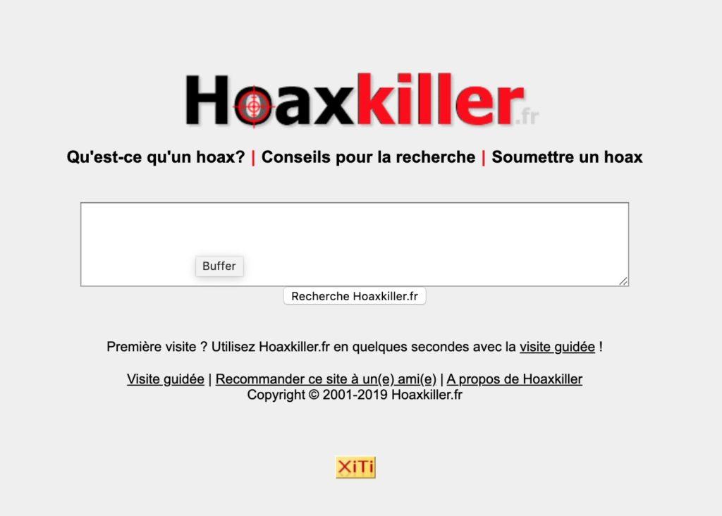 Hoaxkiller