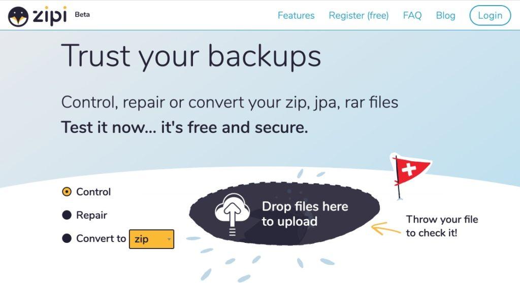 convertisseur fichier archives