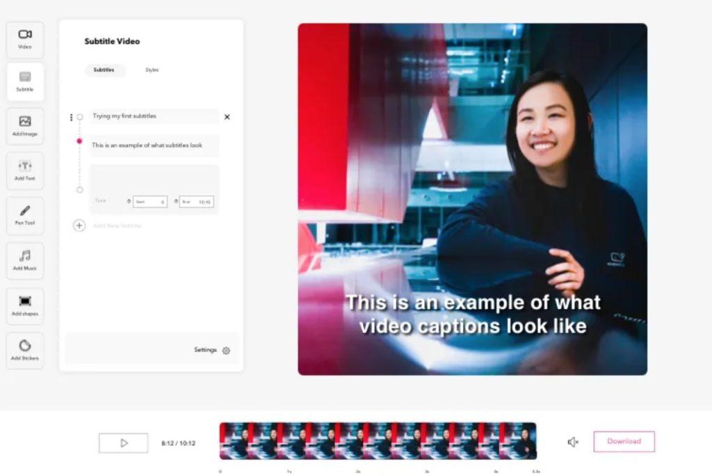 editer videos en ligne