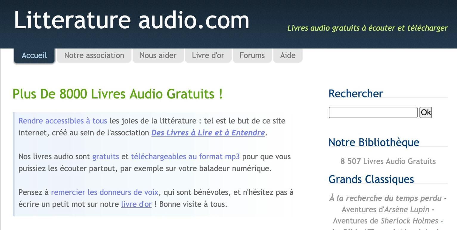 Audio livres
