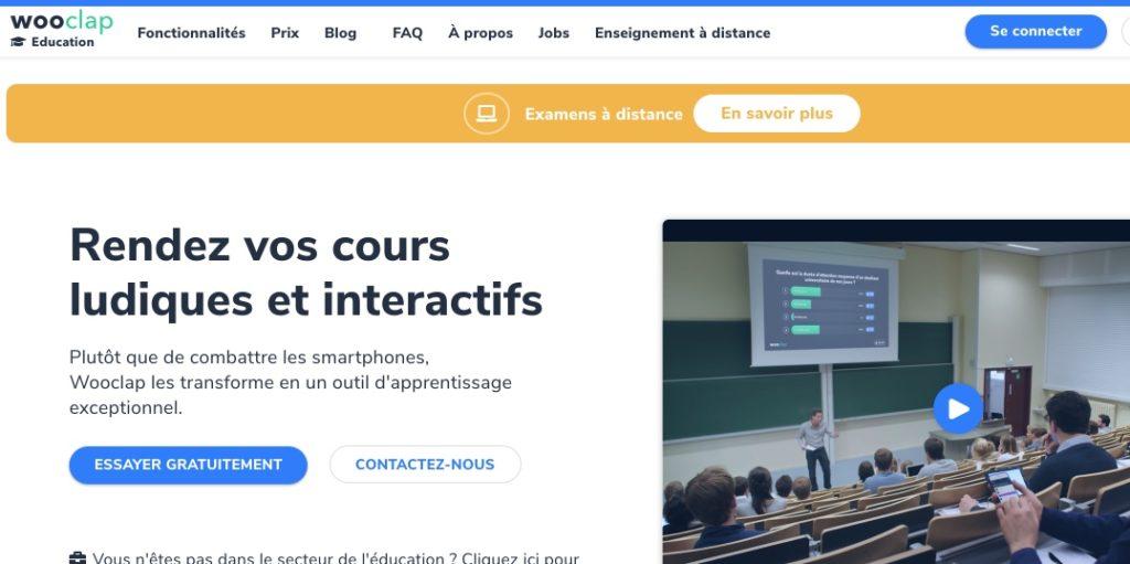 interactivité cours en ligne