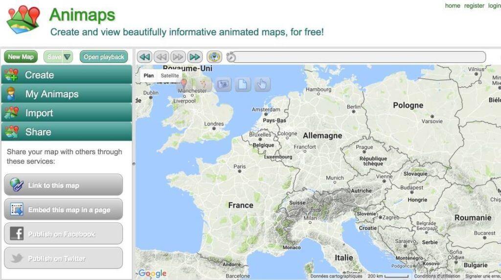 cartographie narrative