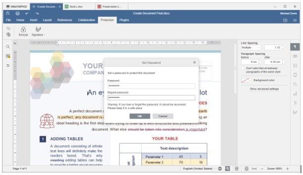 suite bureautique OnlyOffice