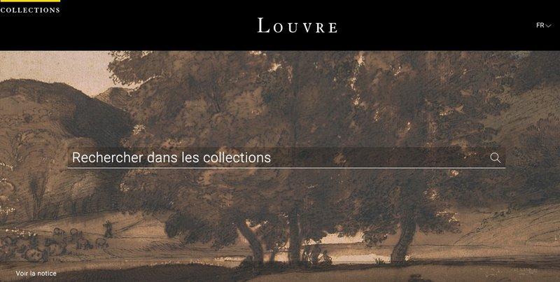 collections du louvre