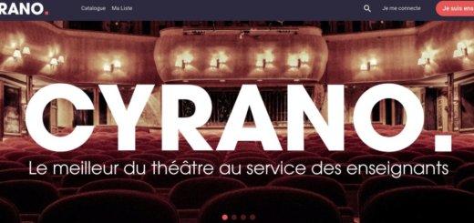 Cyrano. De grandes pièces de théatre gratuites pour tous les enseignants