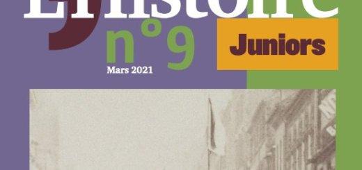 L'Histoire Juniors. Un supplément mensuel gratuit pour raconter l'Histoire aux enfants