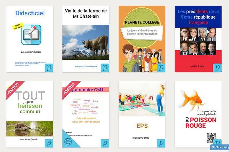 livres numériques classe