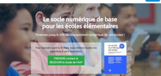 Offrir un socle numérique de base à toutes les écoles primaires