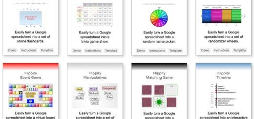 25 jeux et activités pour la classe à partir d'une feuille de calcul Google