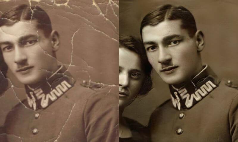 restaurer photos anciennes