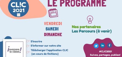 programme clic 2021
