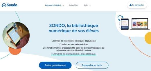 Sondo. Une bibliothèque numérique pour l'école inclusive
