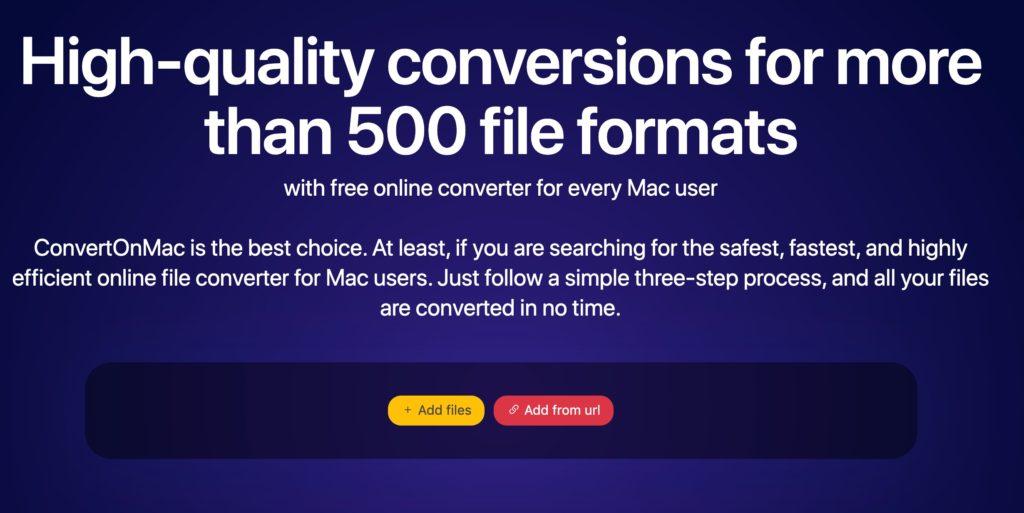 conversion de fichiers