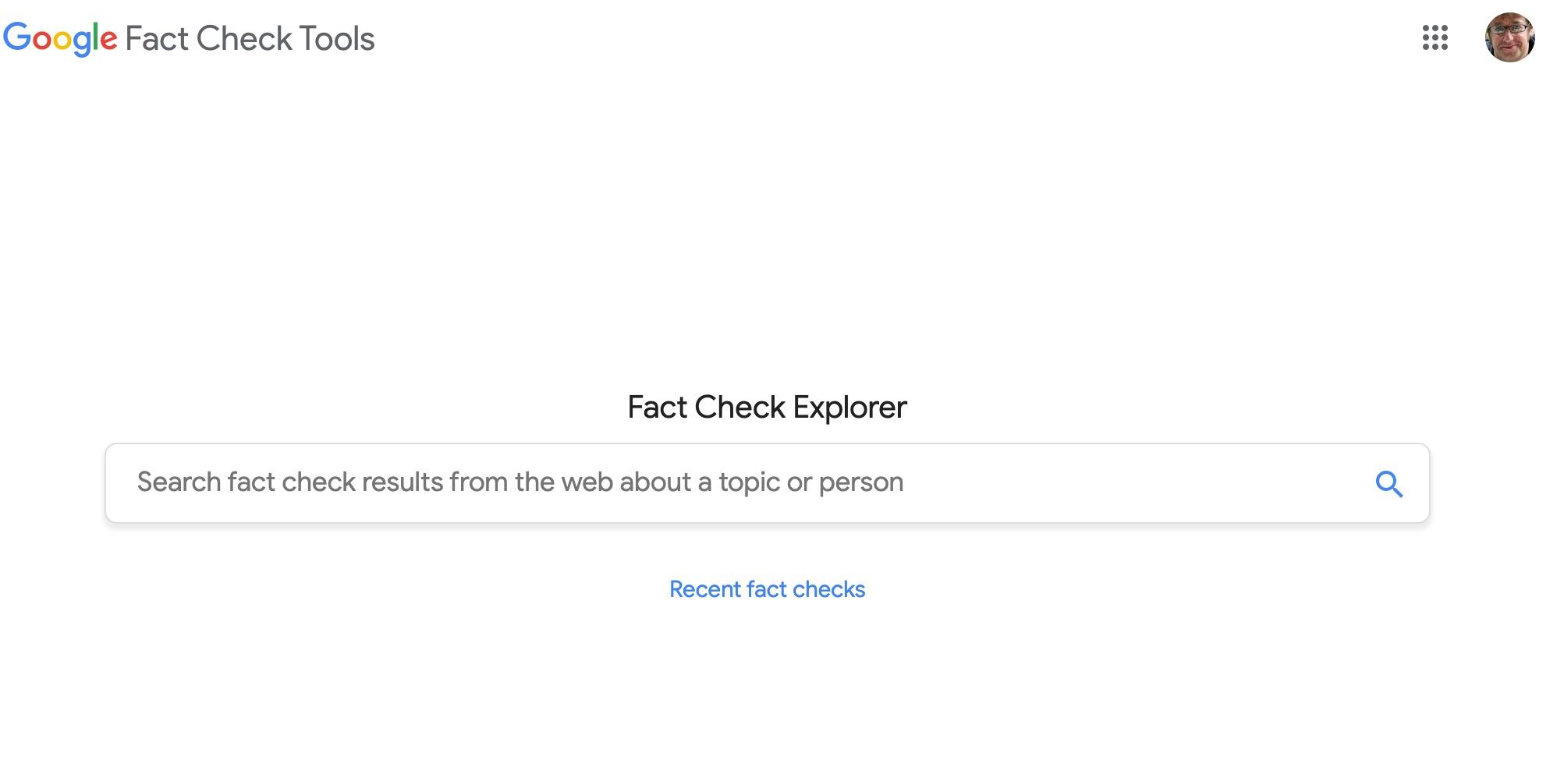 fact check recherche
